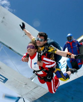 TANDEM PARACHUTE JUMP + VIDEO
