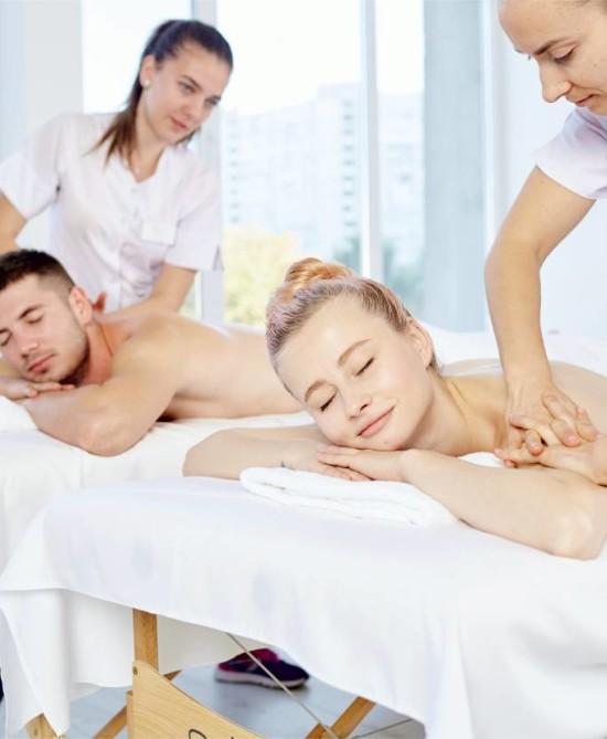 "МАССАЖ ДЛЯ ДВОИХ НА ДОМУ ОТ ""Shiro Massage & Spa"""