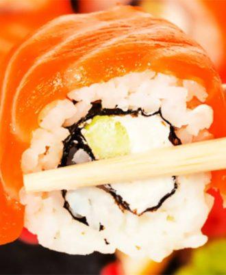 Суши-сет Филадельфия+бутылка шампанского от ресторана «Morimoto»